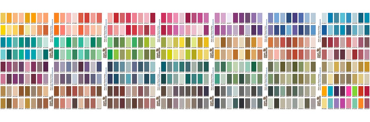 Drucke Farben mit RGB-Codes auf Stoff!
