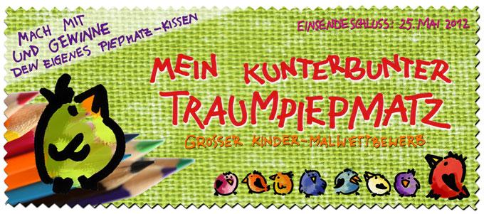 Mein kunterbunter Traumpiepmatz - zugunsten des Kinderhospizes Regenbogenland in