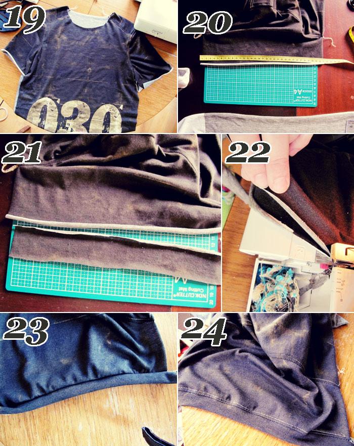 Amajasea-Design beim Shirt nähen