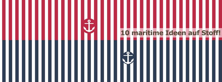 Maritime Stoffe 10 maritime stoffe stoff vom stoff schmie de