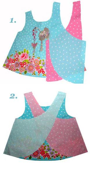 Nähanleitung für ein Hängerchen Schürzenkleid von Mariya Muschard ...