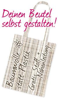 Blogaktion - Mehr Baumwolle statt Plastik!