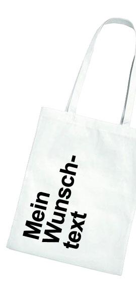 Selbst gedruckter Einkaufsbeutel bei www.Stoff-Schmie.de