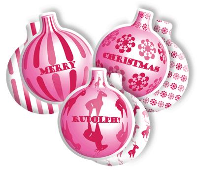 Weihnachtliche Kissen zum Wenden auf Wunsch auch mit individueller Beschriftung