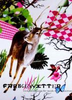 Bedruckter Stoff kreativ verarbeitet - hier im Bild - beigetragen von Stoff-Schmie.de