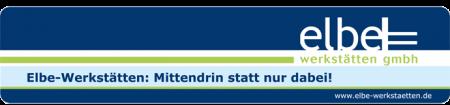 Stoffmuster werden in Handarbeit bei den Elbe-Werstätten zugeschnitten.