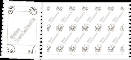 So wird aus dem versetzten Motiv + dem Text ein nahtlos wiederholbares Motiv, dass man beispielsweise auf Fleece drucken kann.