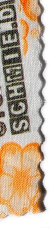 Einen Reinleinen mit eigenen Mustern und Motiven bedrucken.