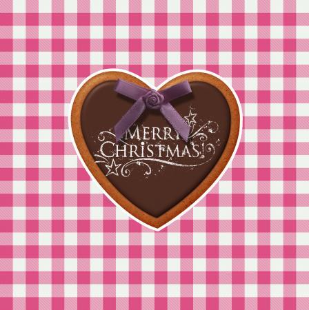 Karo Vichy Lebkuchen: Merry Christmas.