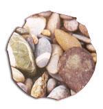 Steinmotiv Ostseestrand