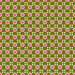 Stoff-Design - Grüner Rosenstoffe