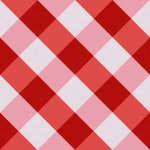 Stoff-Design - Erdbeer Karo - von Stoff-Schmie.de auf www.Stoff-Schmie.de