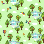 Design - Obstgarten - by Josy, read more about this textile design