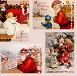 Stoff-Design - Weihnachtlicher Vintage Stoff - von Stoff-Schmie.de auf www.Stoff-Schmie.de
