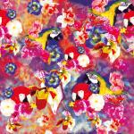 Design - loving parrots - by Anca, read more about this textile design