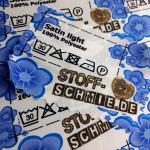 Satin light:  Der Stoff - aus dem Träume gemacht sind auf Blog.Stoff-Schmie.de