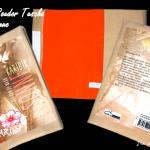 E-Book Reader von Ela van de Maan - schick verpackt mit der Stoff-Schmie.de