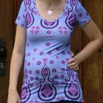 Sommer Shirt im eigenen Design von Schnabelina - gedruckt bei der Stoff-Schmie.d