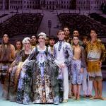 """Stoffe für die Aufführung """"Meine Seele hört im Sehen"""" der Oper Graz"""