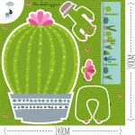 Blog-Stoff Bild zu Kaktusse, tun nicht weh ;-) auf Blog.Stoff-Schmie.de