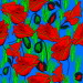 Design - Roter Mohn - by BS Gallery, read more about this textile design