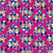 Design - Geo Love pink  - by Lila-Lotta, read more about this textile design