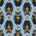Design - Lechuza fam gris - by Lila-Lotta, read more about this textile design