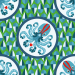 Design - Pulpo Pamelo green  - by Lila-Lotta, read more about this textile design