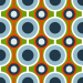 Design - Retro Lotts B - by Lila-Lotta, read more about this textile design