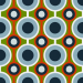 Design - Retro Lotts BD - by Lila-Lotta, read more about this textile design