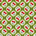 Design - Sweet Peppy Cherry Love green - by Lila-Lotta, read more about this textile design