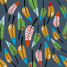 Design - Typchen Federn GO4 - by Lila-Lotta, read more about this textile design