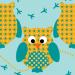 Design - Eulenreigen - by coyolxa, read more about this textile design