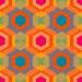 Design - hexgonal - by LOHER.design, read more about this textile design