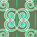 Design - swirla - by LOHER.design, read more about this textile design