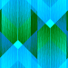 Design - zigzag blau - by LOHER.design, read more about this textile design