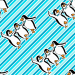 Design - Pinguin Stoff - by Lieblingsstoff, read more about this textile design