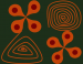 Design - flowerpower - by mrs.schneckstein, read more about this textile design