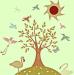 Design - sommerbaum - by mrs.schneckstein, read more about this textile design