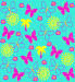 Design - Butterflysummer - by Hexelotte, read more about this textile design