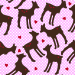 Design - Los Kitzellos {rosé} - by ღ Chicci Chicci ღ © by C.Gabor, read more about this textile design