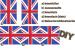 Design - Union Jack Portmonnaie Stoff - by Flagman, read more about this textile design