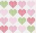 "Design - Sommer Herzen ""Erdbeere"" - by Lieblingsstoff, read more about this textile design"