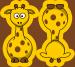 Design - Hugo. Der grosse Giraffe. - by Lieblingsstoff, read more about this textile design