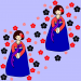Design - Nari - by WUTZILLA, read more about this textile design