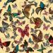 Design - Retro Schmetterlinge auf Stoff (klein) - by Stoff-Schmie.de, read more about this textile design