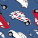 Design - Ente 2 CV XL  - by Lieblingsstoff, read more about this textile design