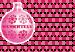 Design - Stoff für Weihnachtswinterkissen (mit Wunschtext) - by Stoff-Schmie.de, read more about this textile design