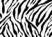 Design - Zebra Print XXL (1.45x1m) - by Andreas Becker, read more about this textile design