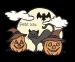 Design - Halloween time - by Petit lilü, read more about this textile design